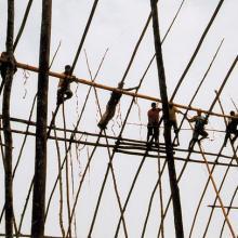 Aldeia Moygu do povo Ikpeng © Marcus Chamon Schmidt/ISA