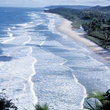 Praia exposta Itacaré © Roberto Linsker/Terra Virgem